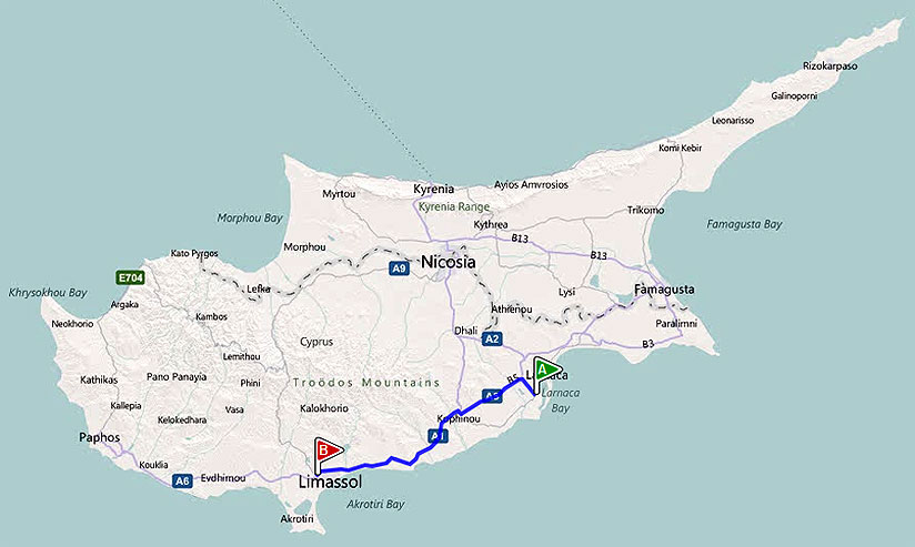 larnaca_airport_limassol Vacanță Cipru