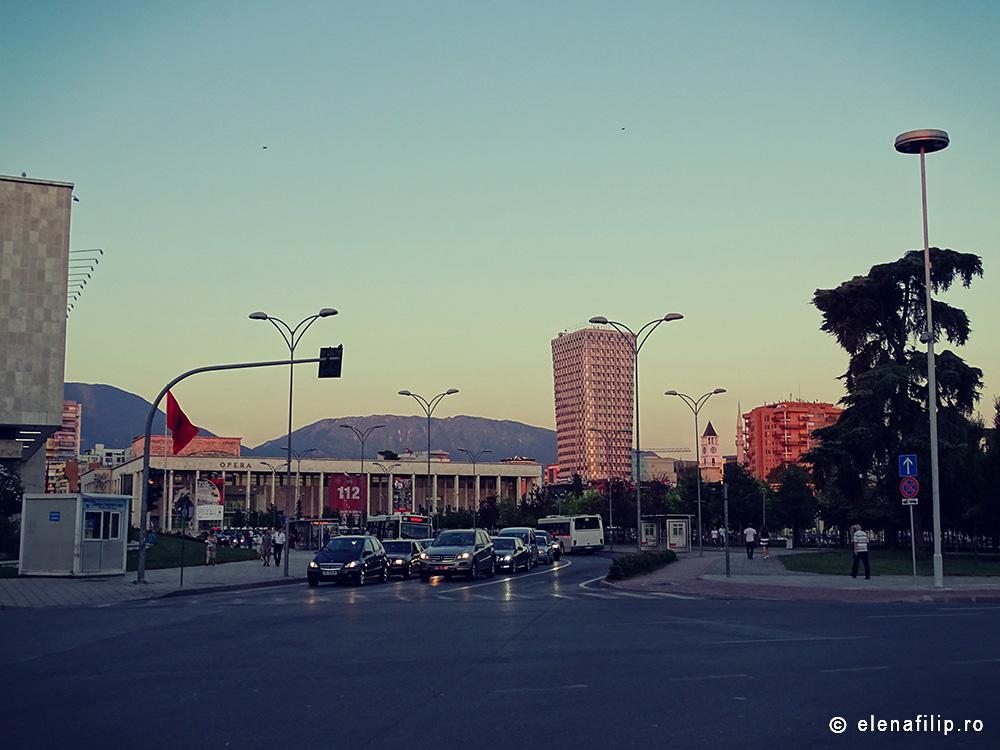 Vacanță în Tirana