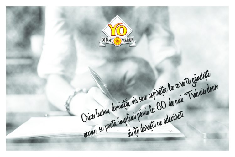 sirop YO 60 de ani