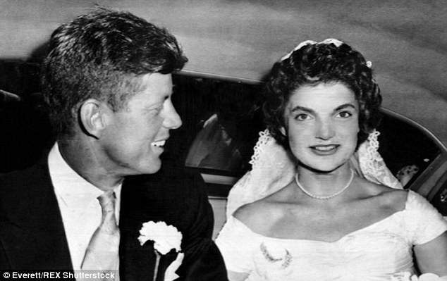 jfk and jackie kennedy wedding