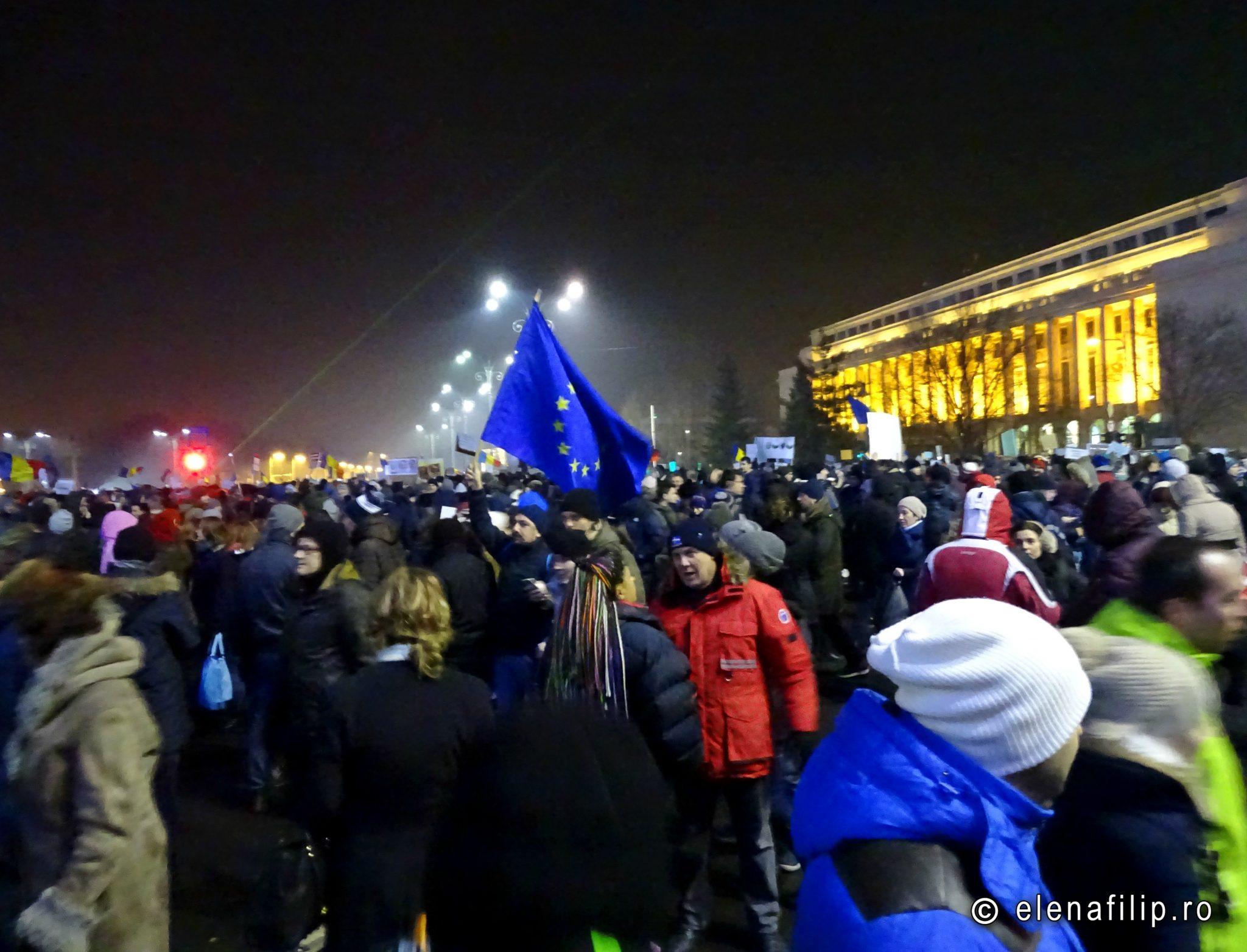 protest februarie romania