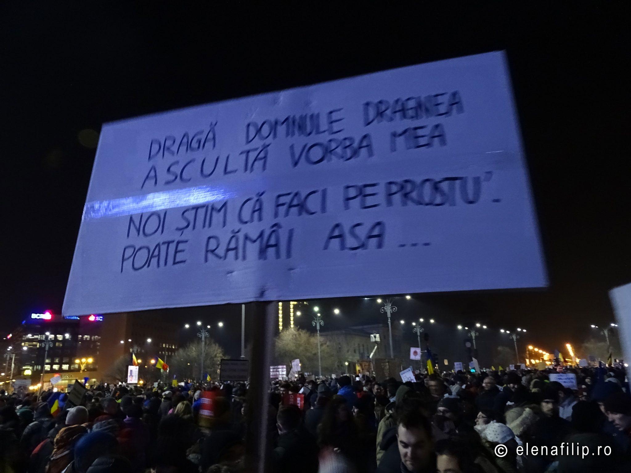 protest bucuresti 2017