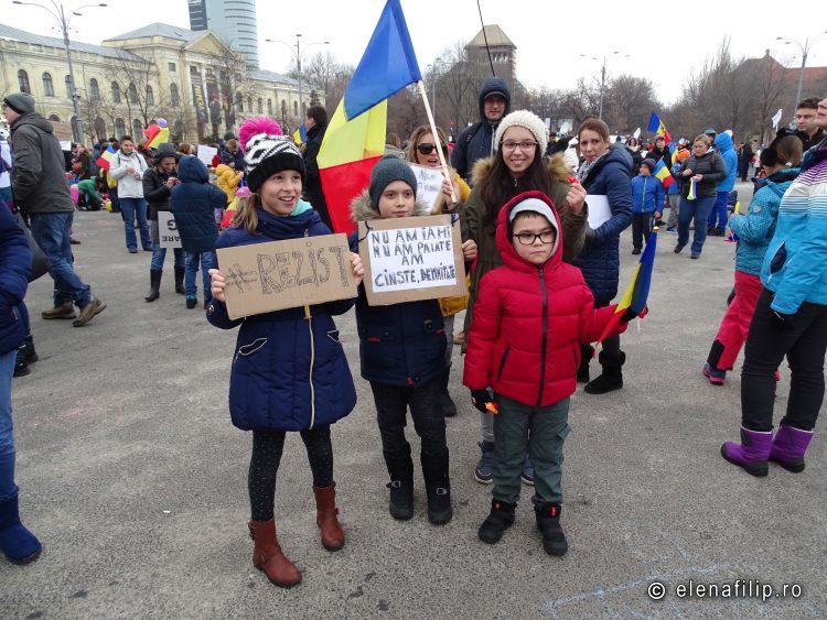 protestul copiilor bucuresti 2017