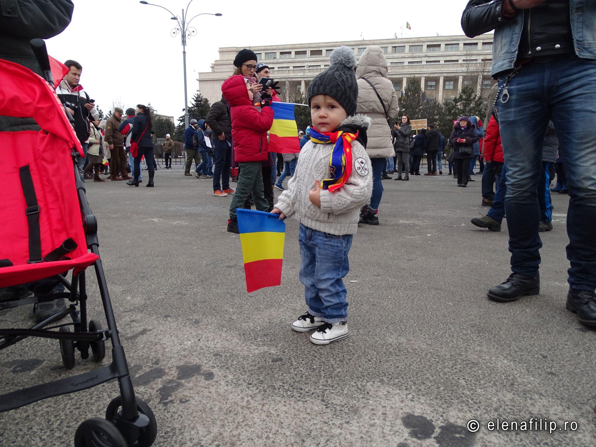 protestul copiilor bucuresti