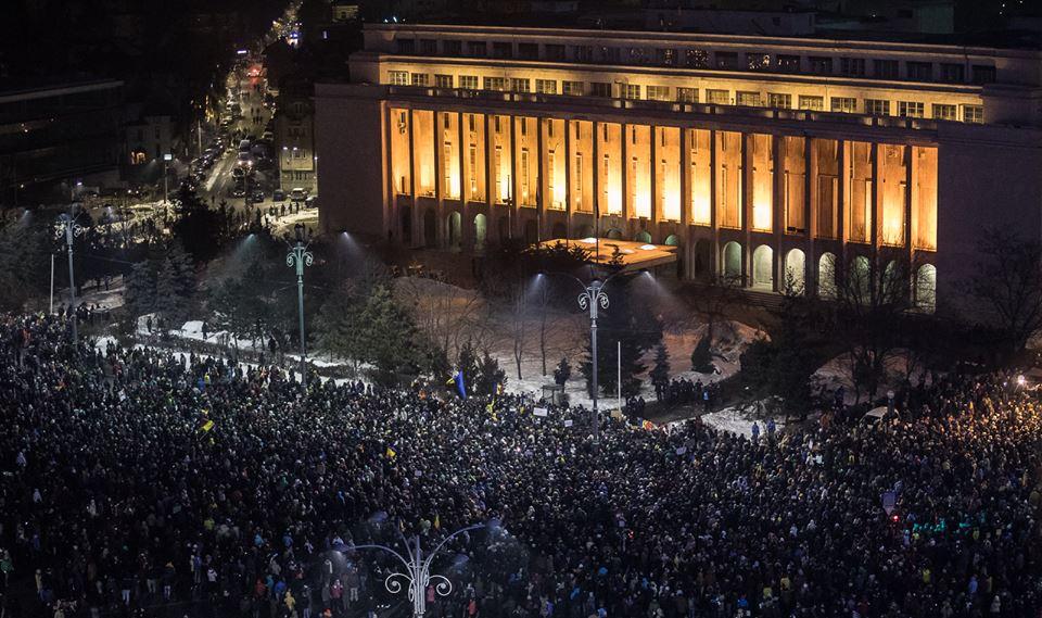 protest amnistie gratiere bucuresti 31 ianuarie 2017