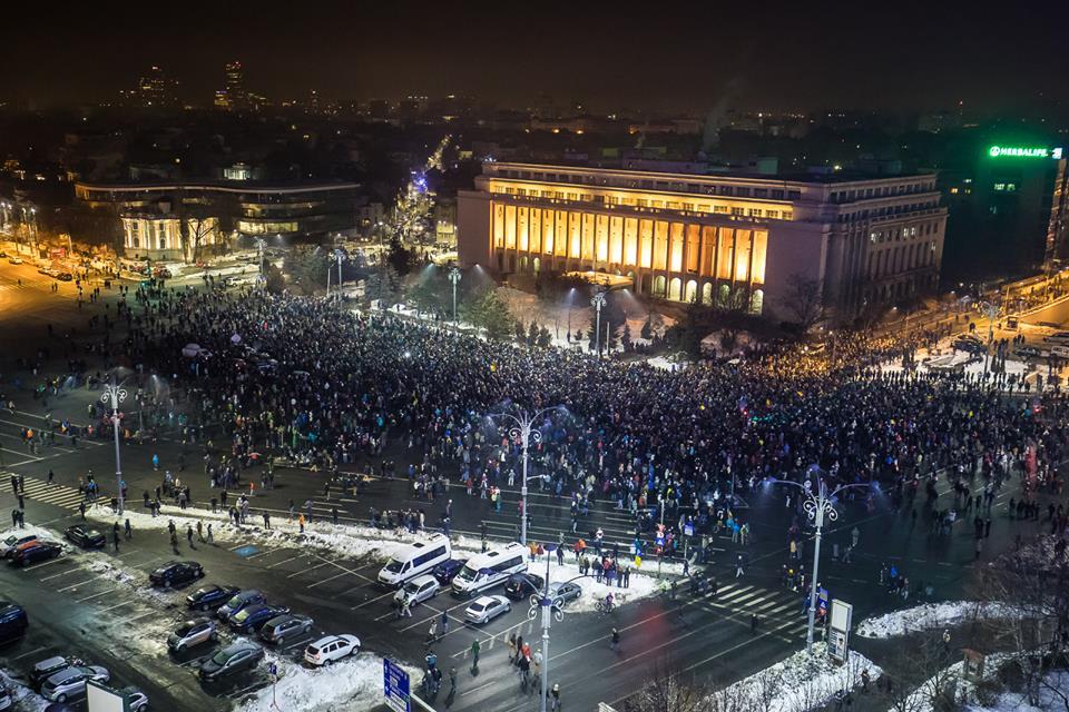 protest 31 ianuarie bucuresti