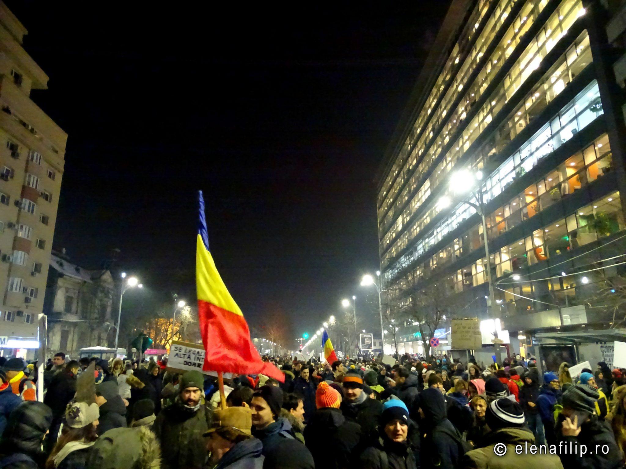 protest bucuresti 2 februarie 2017
