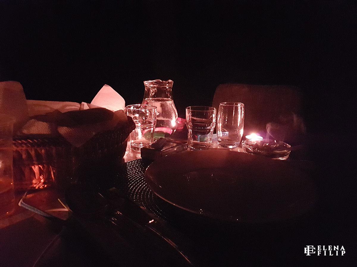 cină lumânări