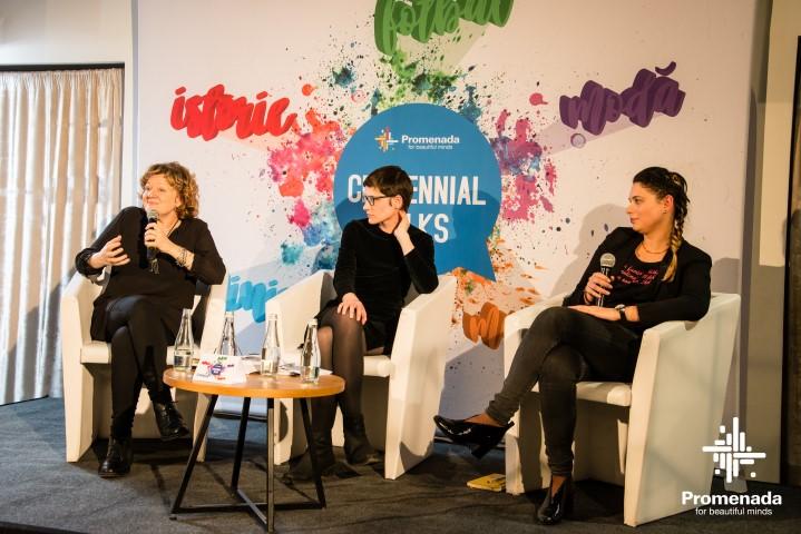 promenada centennial talks feminism
