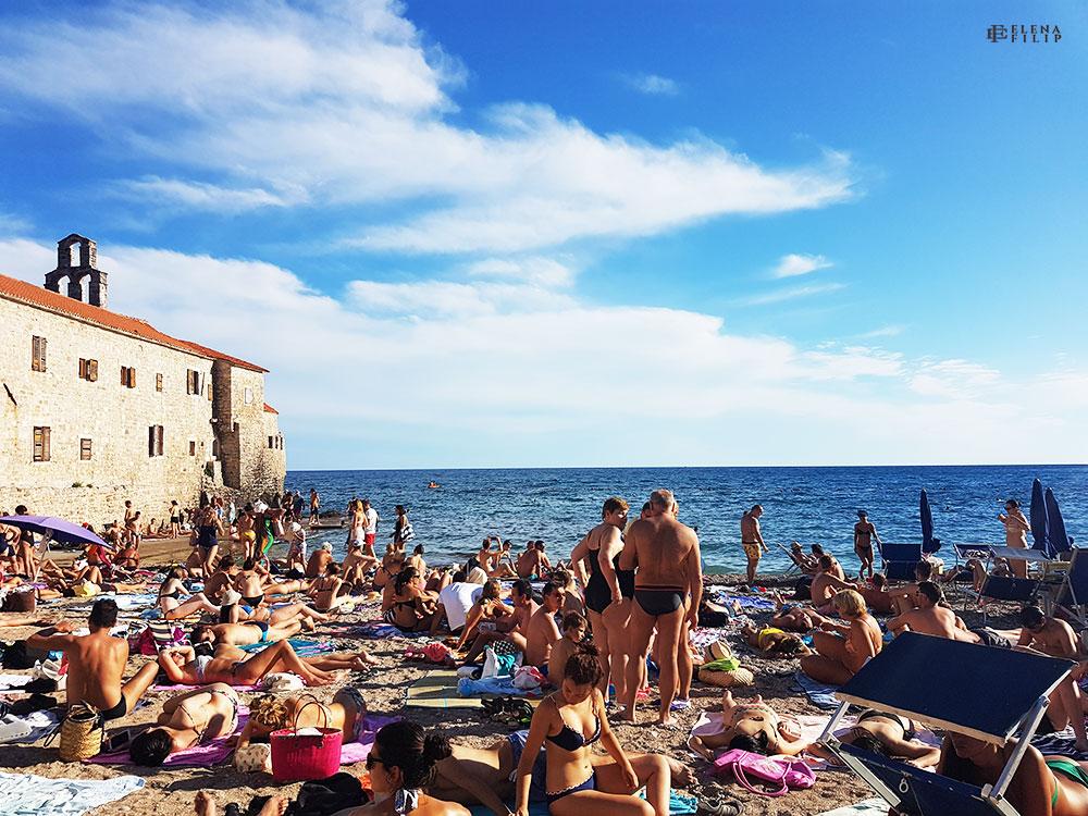 plajă Budva